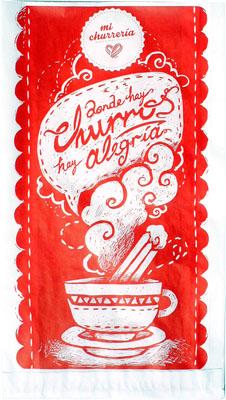 small-size-fat-resistant-churro-bags-18x06x33cm-mi-churreria-brand-1000-pcs-box