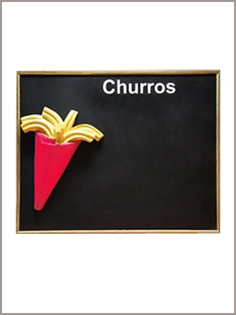 pizarra-de-pared-60-x-60-color-rojo-con-aplique-de-churros