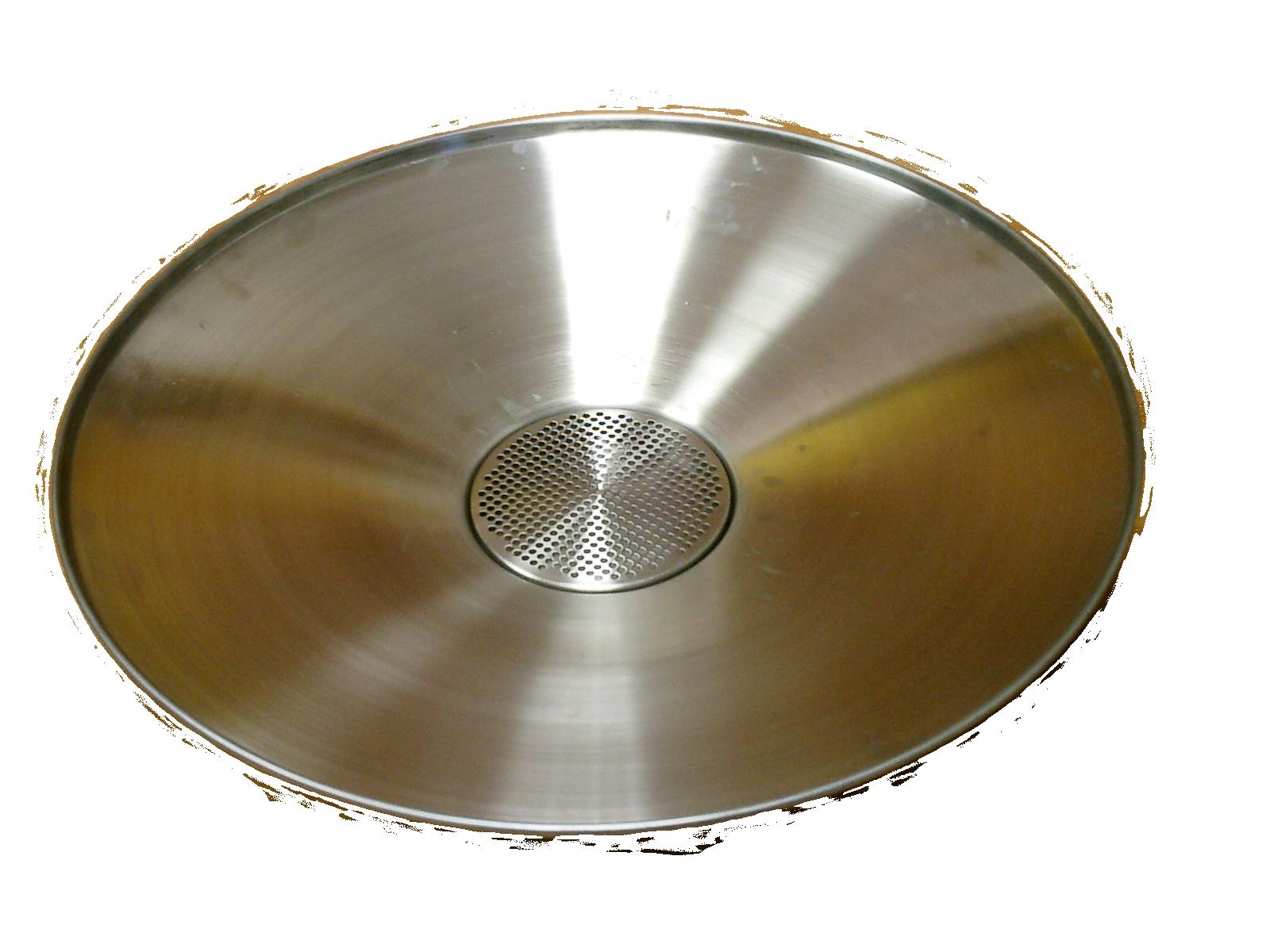 escurridor-inox-conico-65-cm